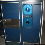Data General disk drive and 6026 Tape Drive cabinet