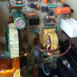 MV/3200 Power Supply Board faulty capacitor replaced