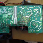 MV/3200 Power Supply Board before cleaining